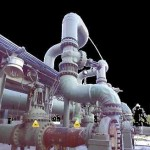 3D scan points of piping and equipment