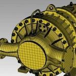 reverse engineer 3d scaned pump to 3d printed part