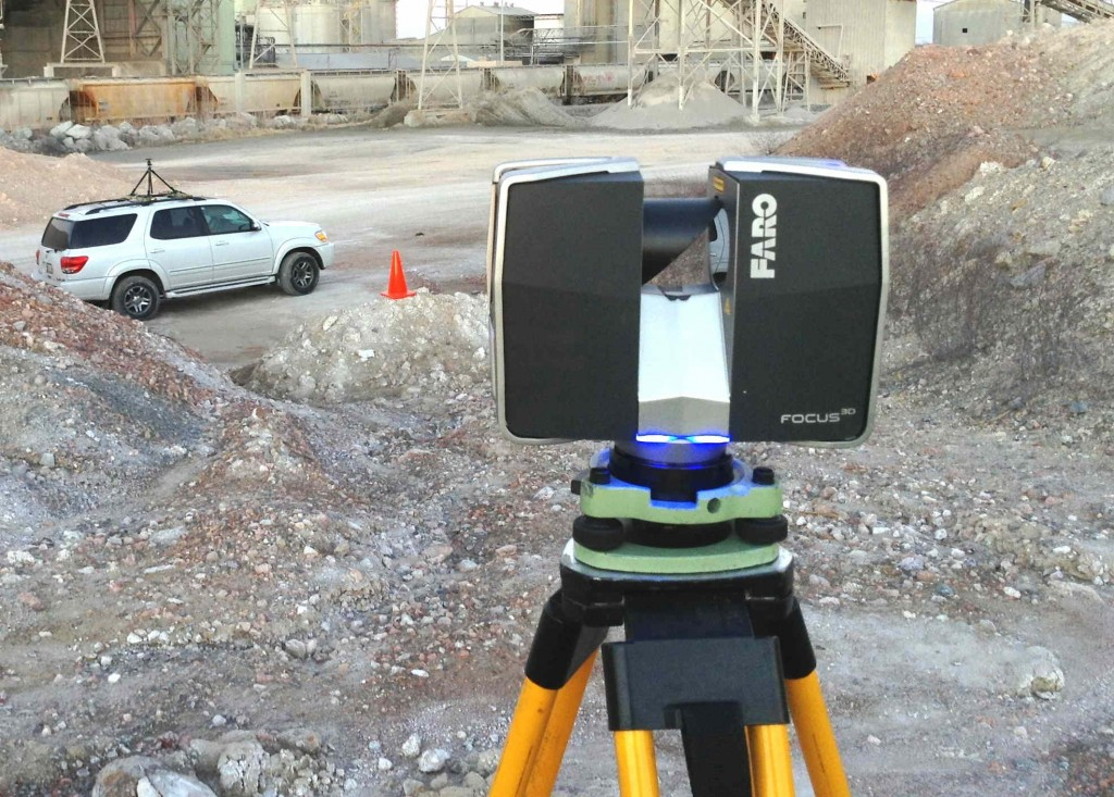 Faro Focus3D for onsite scanning