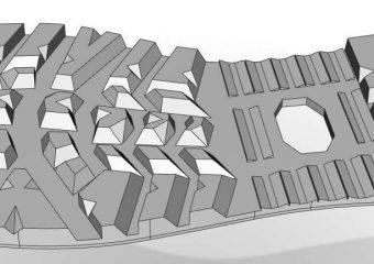 Upside down shoe sole
