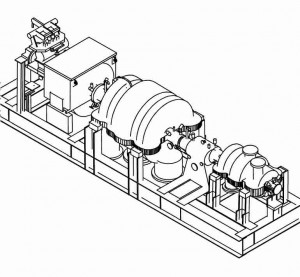 CAD model from turbine 3D scan