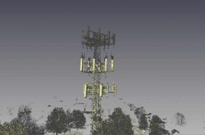 Cell Tower Point Cloud