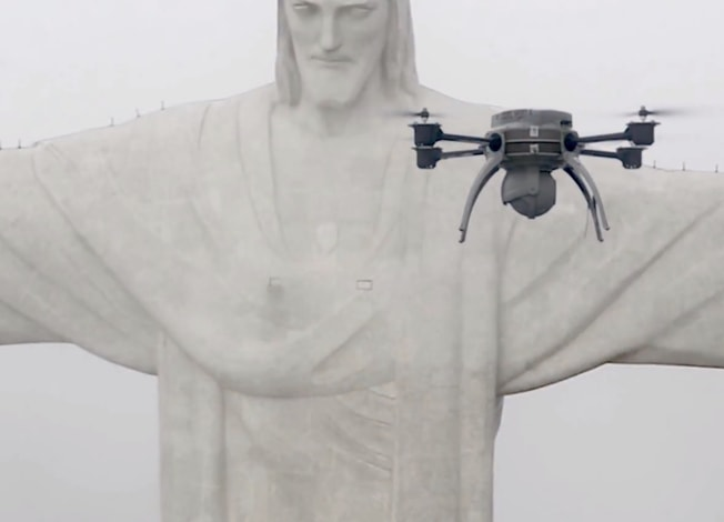 "Pix4D Drone Scanning ""Christ the Redeemer"""