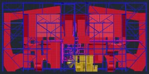 3D CAD power plant exhaust