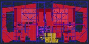 3D CAD power plant exhaust