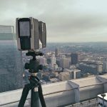 scanner on rooftop