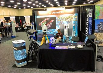 arrival 3d trade show booth
