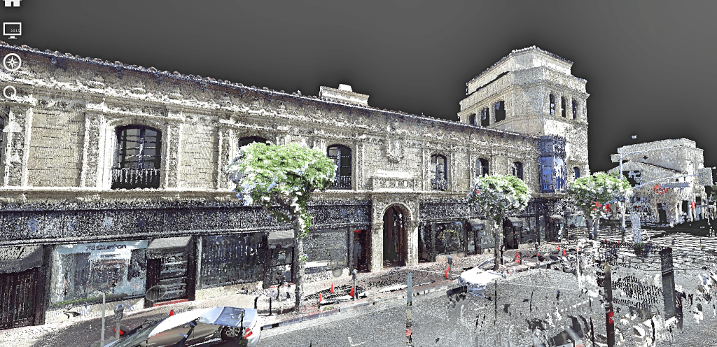 color point cloud