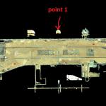 dam railway 3d scan