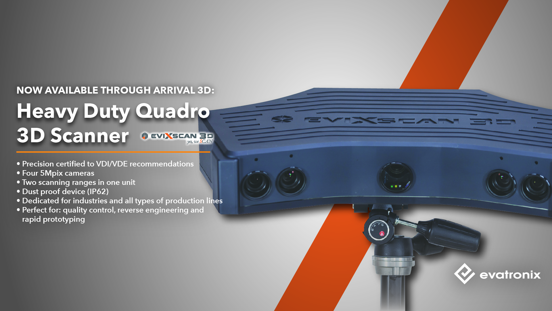 Heavy Duty Quadro scanner