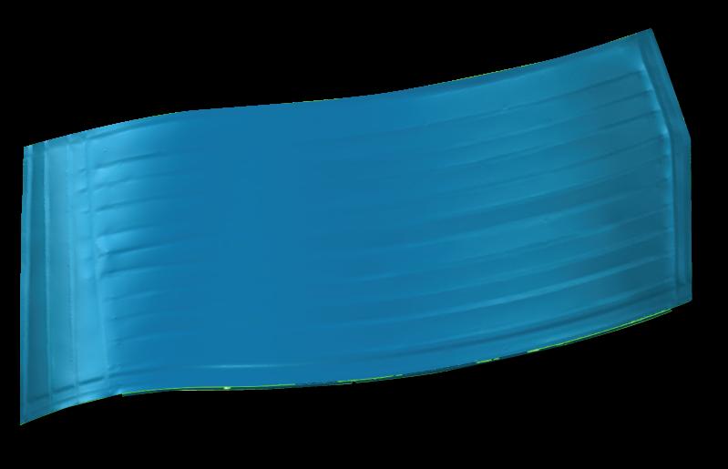 aerospace sheet metal part