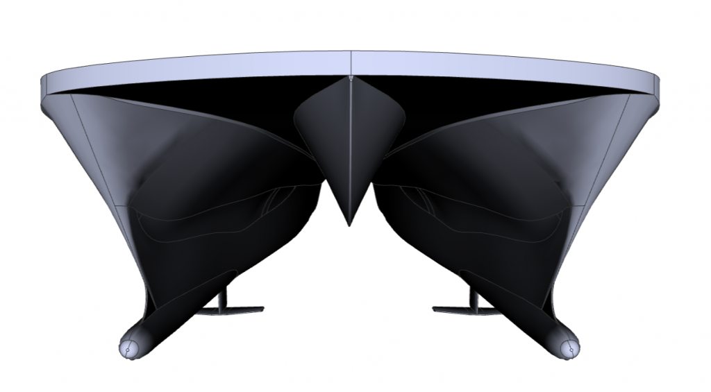 3D CAD of Hull