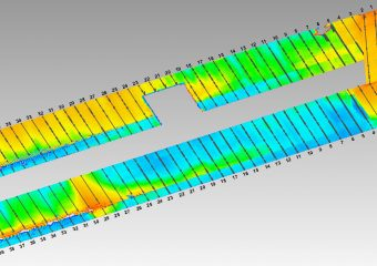 channel deviation image