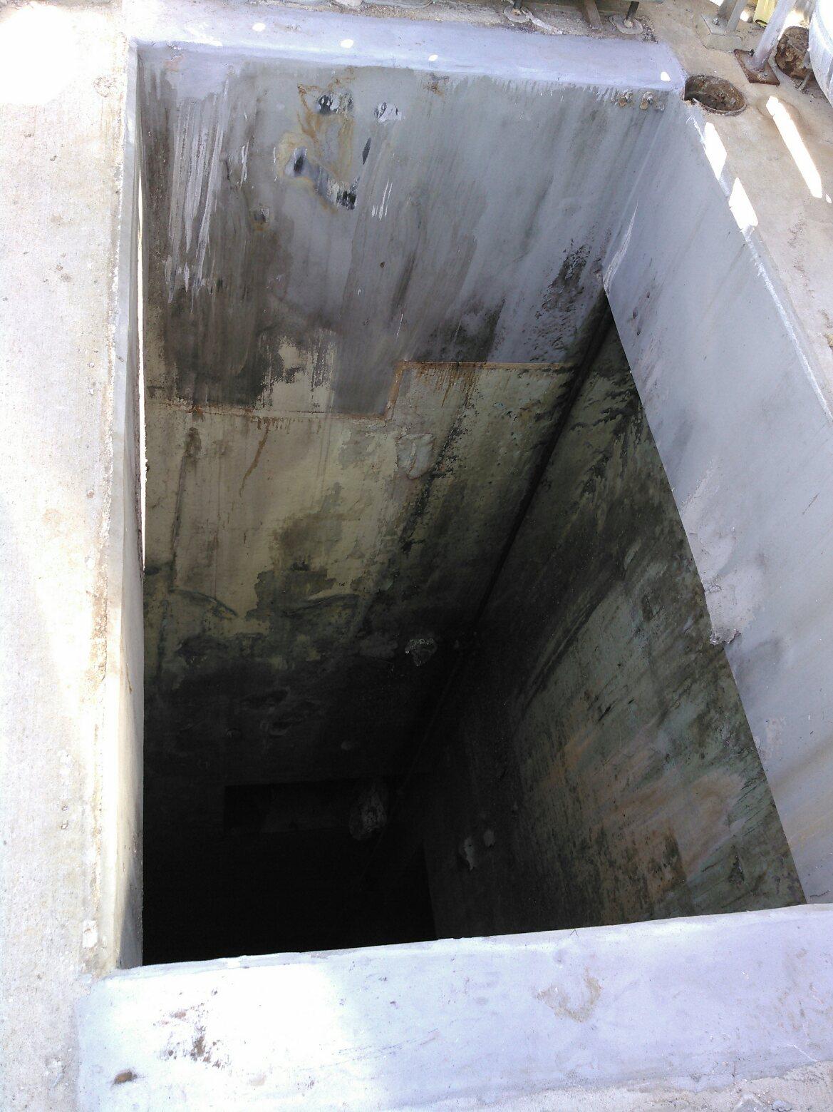 deep hole
