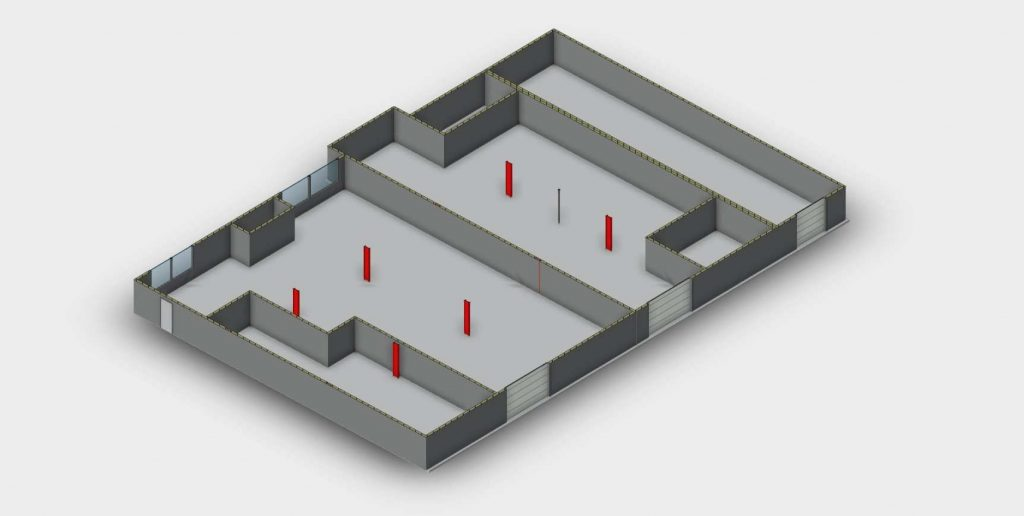 revit floorplan from scan