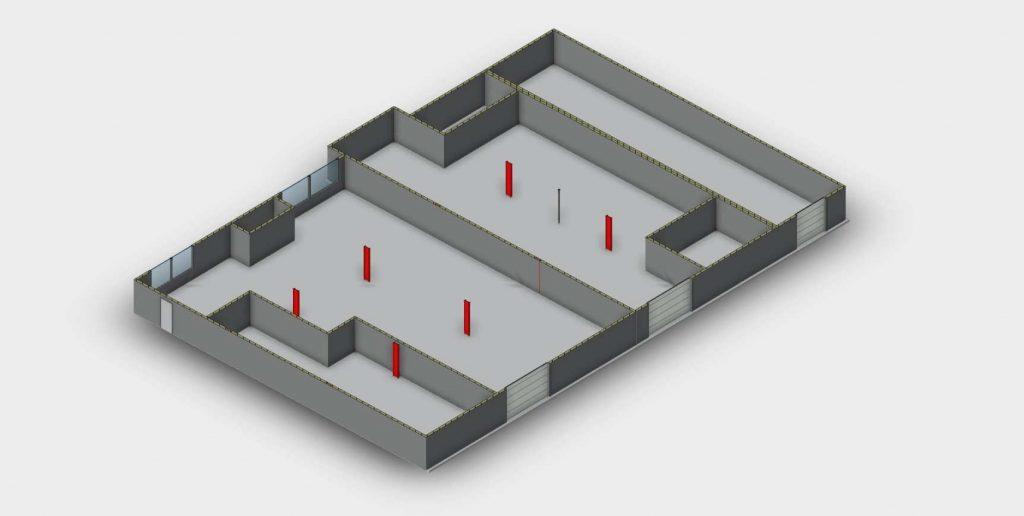 revit floorplan from scan