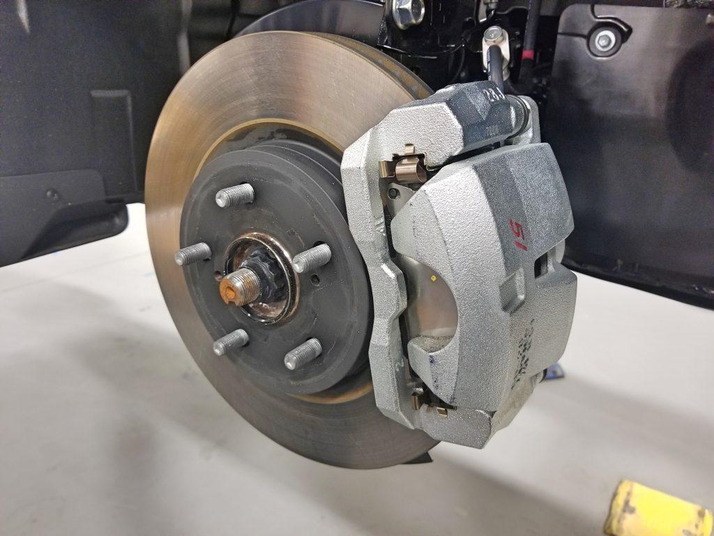 brake caliper scan