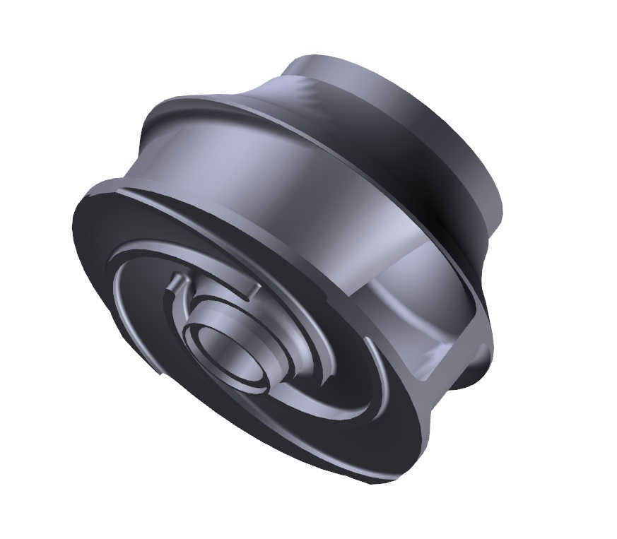 pump impeller 3d model