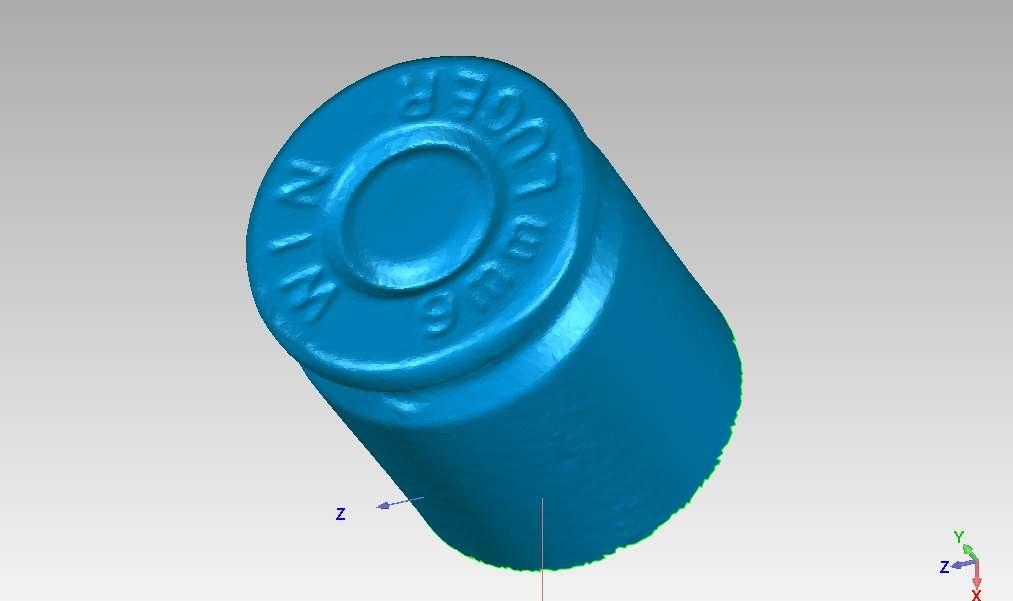 scan of bullet casing