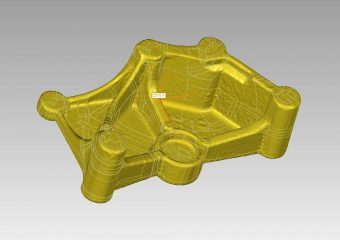autosurface nurbs automotive bracket