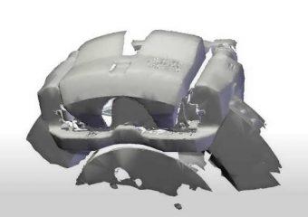 brake caliper 3d scan