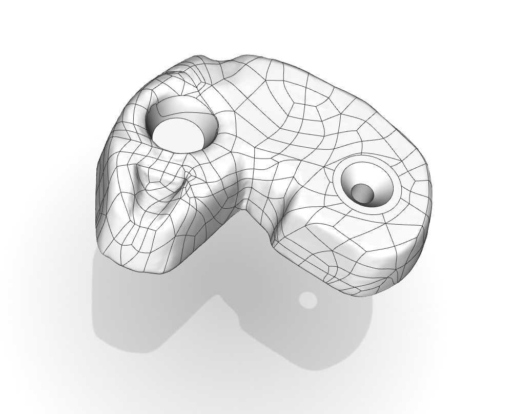 autosurface NURBS model