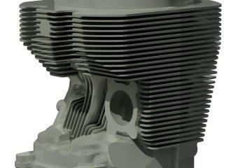3d scanning aviation cylinder head