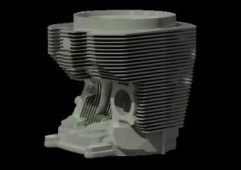 reverse engineering cylinder head
