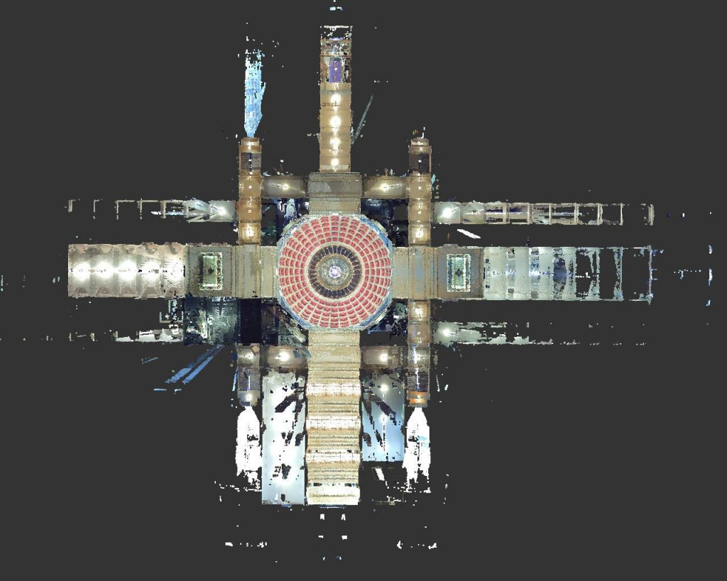 top down view capitol scan