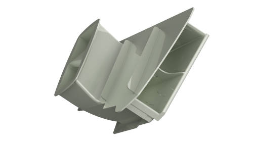 3d scan inlet duct