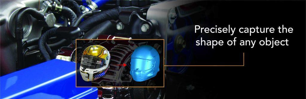 helmet 3d scan