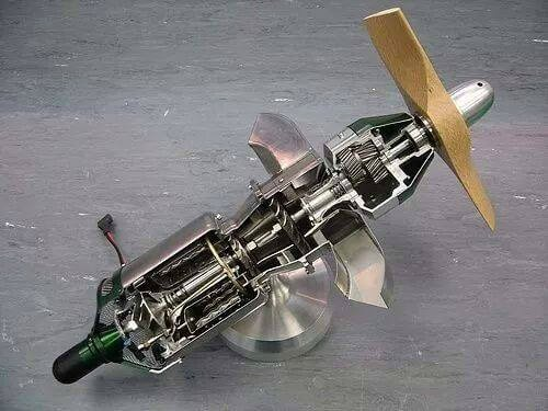 3d scan aircraft engine