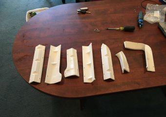 separate pieces that assemble