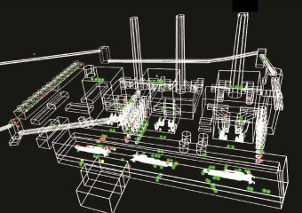 power plant wireframe