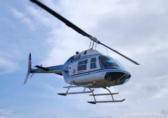 helicopter 3D scanning