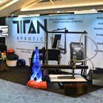 titan robotics pellet extrusion 3d printer