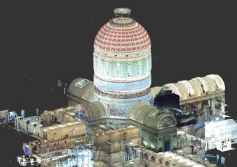 point cloud in color