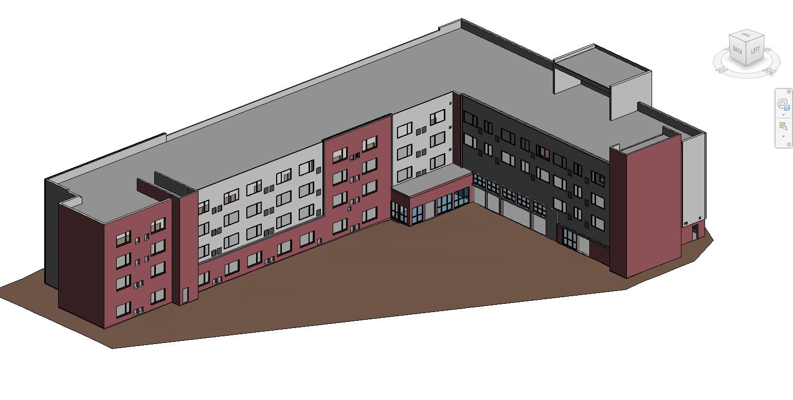 BIM model of hotel