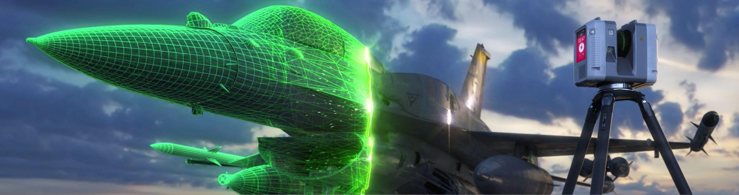 half-digitized 3D rendering of plane