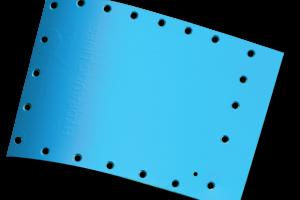 Aerospace sheet 3D scan