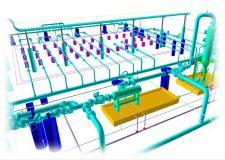 Gas plant 3d scanning services